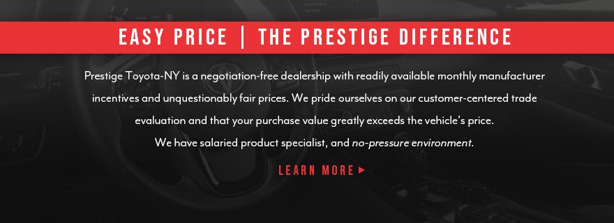 Toyota Dealer in Kingston, NY | Prestige Toyota-NY